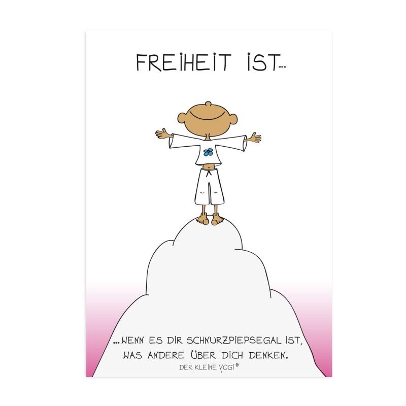 Postkarte - Freiheit