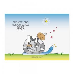 Postkarte - Ausruhplätze - NEU