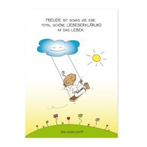 Postkarte - Liebeserklärung
