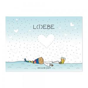 Postkarte - L(i)ebe