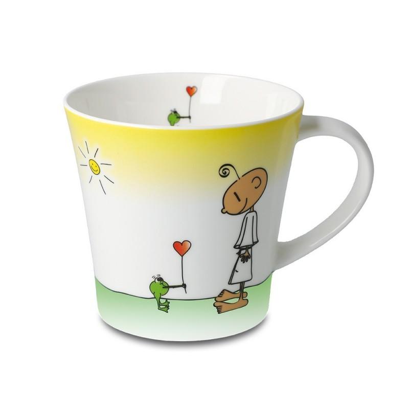 Kaffeetasse - Glücklich