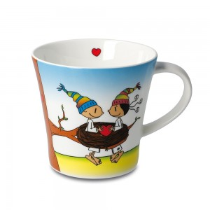 Kaffeetasse - Glück ist Zeit