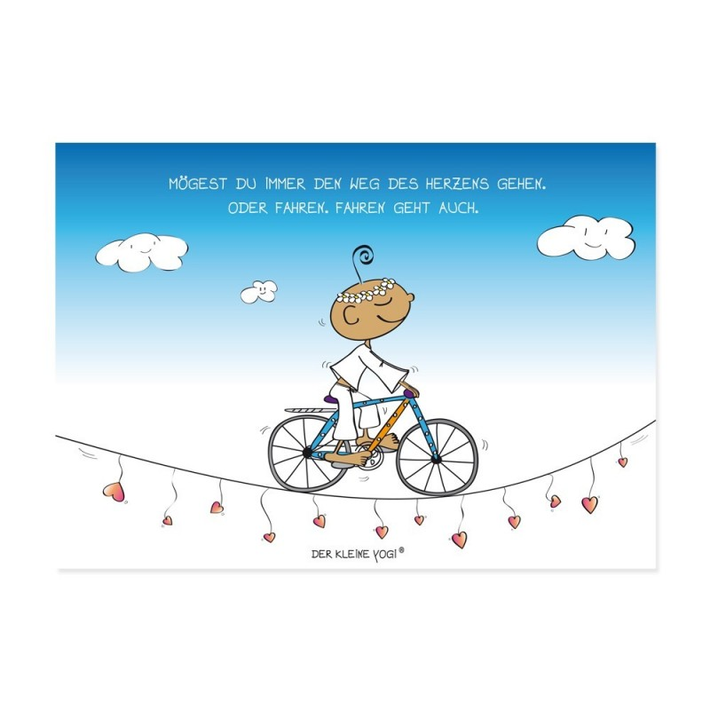 Postkarte - Weg des Herzens - NEU