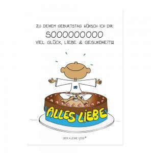 Postkarte - Zu Deinem Geburtstag - NEU