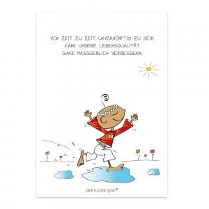 Postkarte - Unvernunft