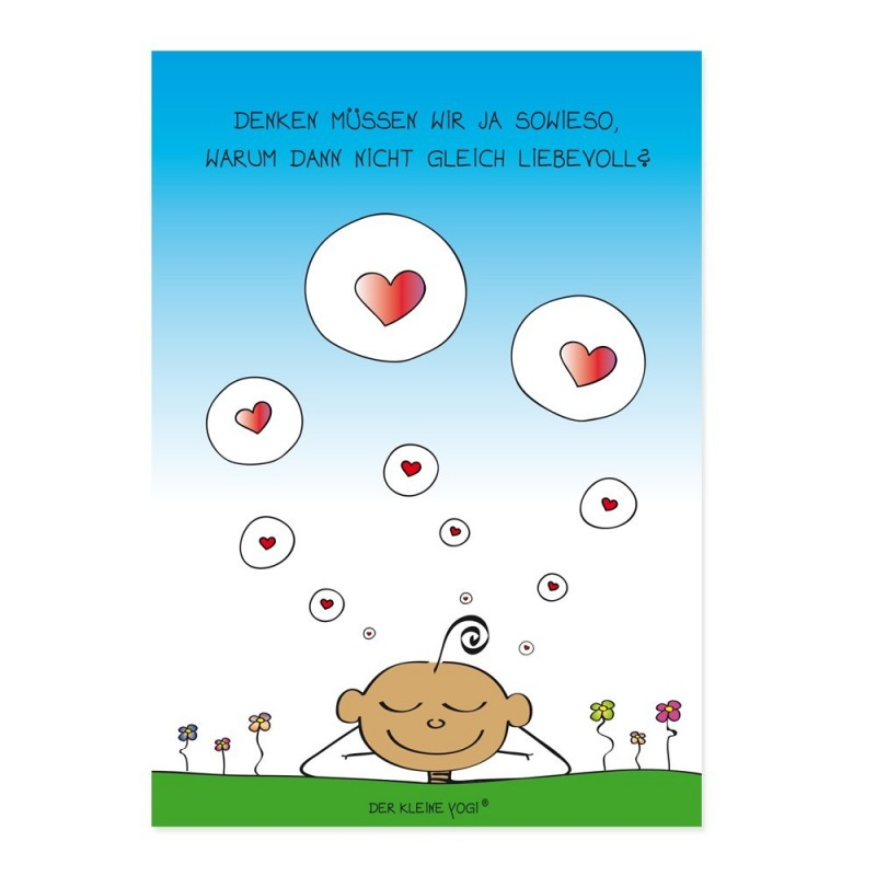 Postkarte - Denken - NEU