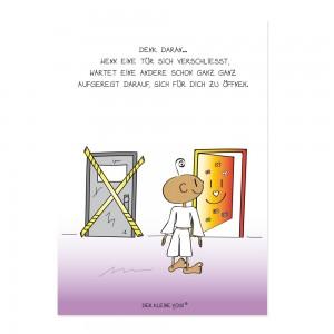 Postkarte - Türen - NEU