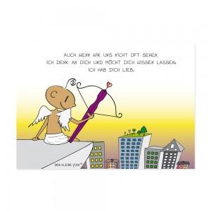 Postkarte - Yogi Engel - NEU