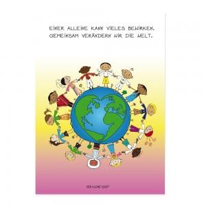 Postkarte - Gemeinsam