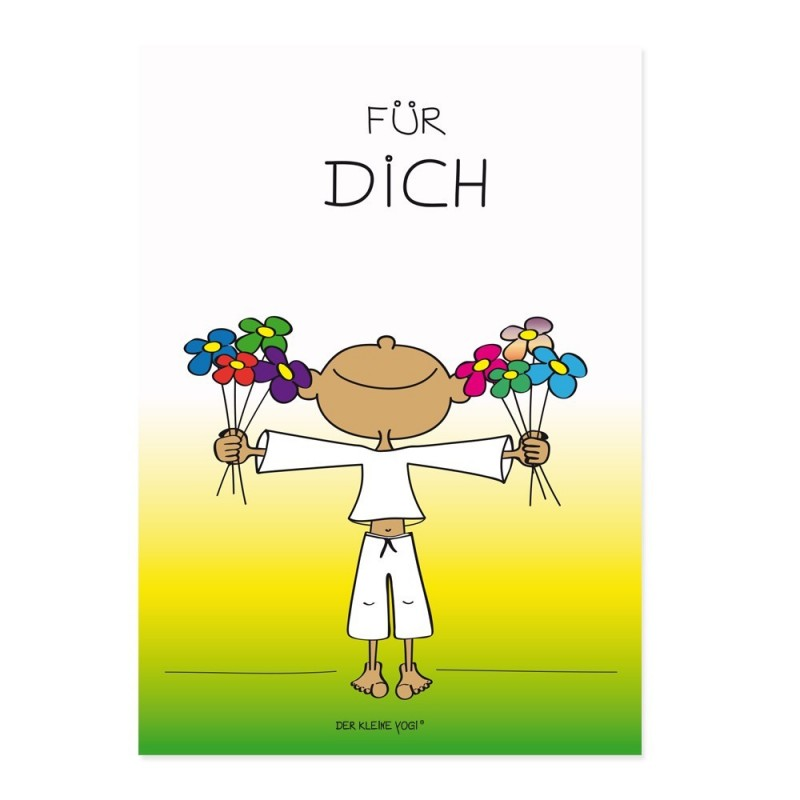 Postkarte - Für Dich