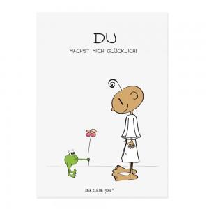 Postkarte - Du machst Mich glücklich