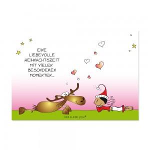 Postkarte - Eine liebevolle Weihnachtszeit
