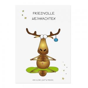 Postkarte - Friedvolle Weihnachten