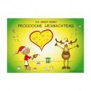 Postkarte - Aus ganzem Herzen