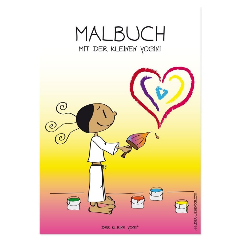 Die kleine Yogini - Malbuch als Download