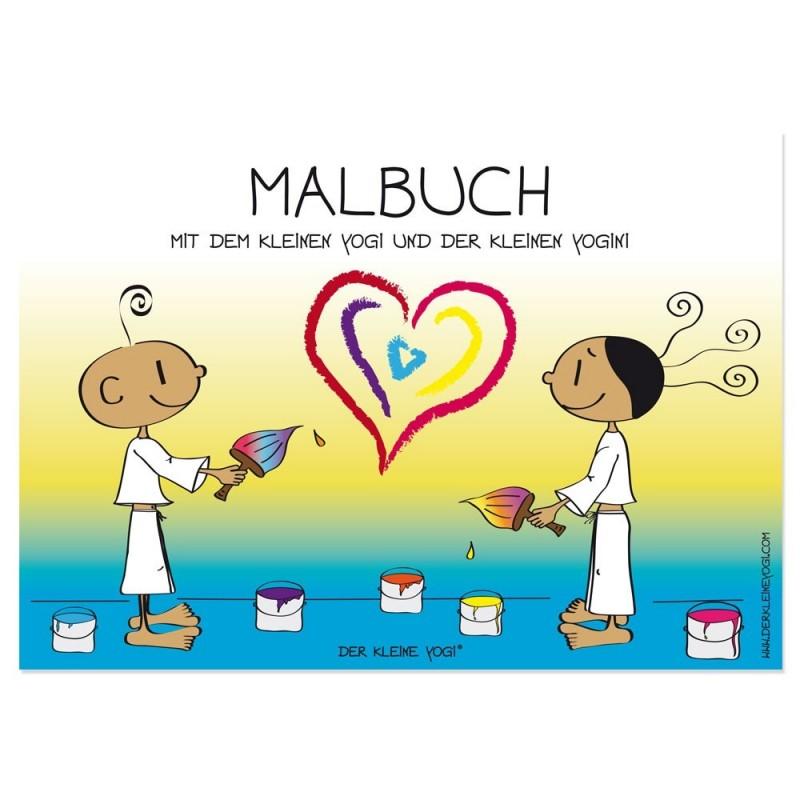 Yogi & Yogini - Malbuch als Download