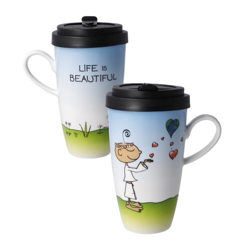 Mug To Go - Life Is Beautiful