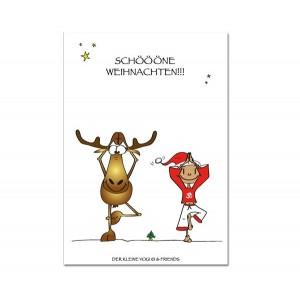 Postkarte - Schöööne Weihnachten