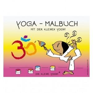 Yoga-Malbuch mit der kleinen Yogini als Download